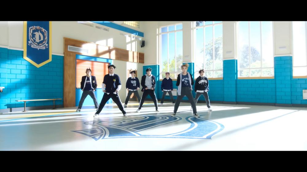 ENHYPEN HavingFun Together in The Comeback MV 'Tamed-Dashed'