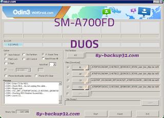 سوفت وير هاتف Galaxy A7 DUOS موديل SM-A700FD روم الاصلاح 4 ملفات تحميل مباشر