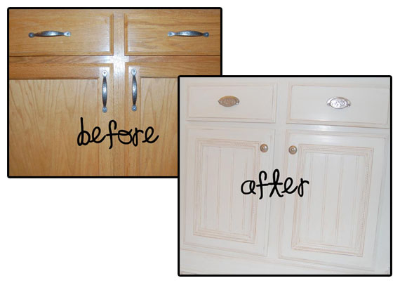 Updating Plain Kitchen Cabinet Doors