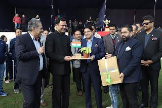मानव रचना 13वें कॉर्पोरेट क्रिकेट चैलेंज का आगाज : डीसी यशपाल यादव ने किया उद्घाटन
