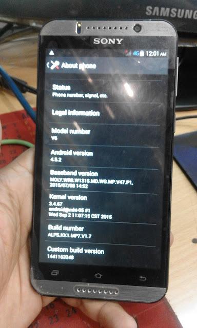 Sony Xbo V6 Flash File LCD Fixed Firmware CM2 Read - gsmfuturebd