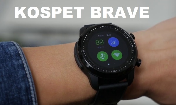 Kospet Brave Android 4G SmartWatch (You will Love it)