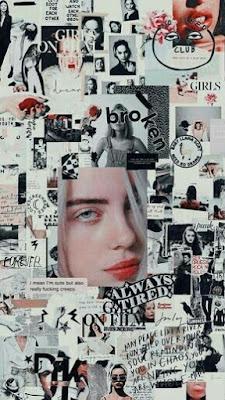 Gambar Wallpaper dan Lockscreen Billie Eilish Aesthetic Keren