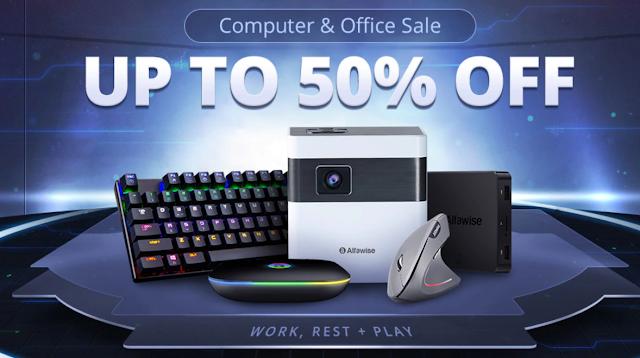 Promoção Computadores e Material de Escritório na Gearbest