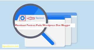CARA Membuat Favicon Keren Untuk Blog Dan Wordpress Terbaru