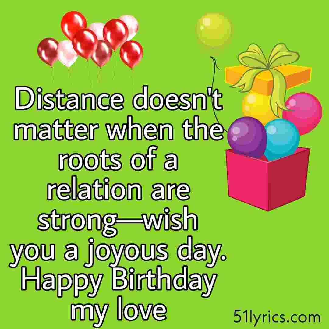 50 Lovely Long Distance Birthday Wishes And Messages For Husband