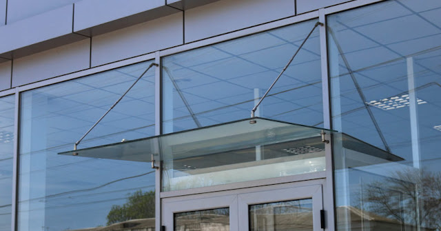 Types of glass canopies