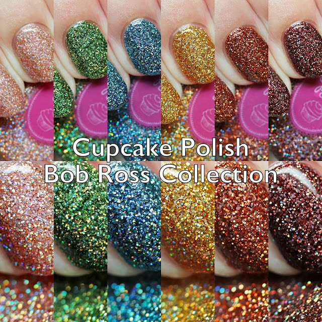 Cupcake Polish Bob Ross Collection