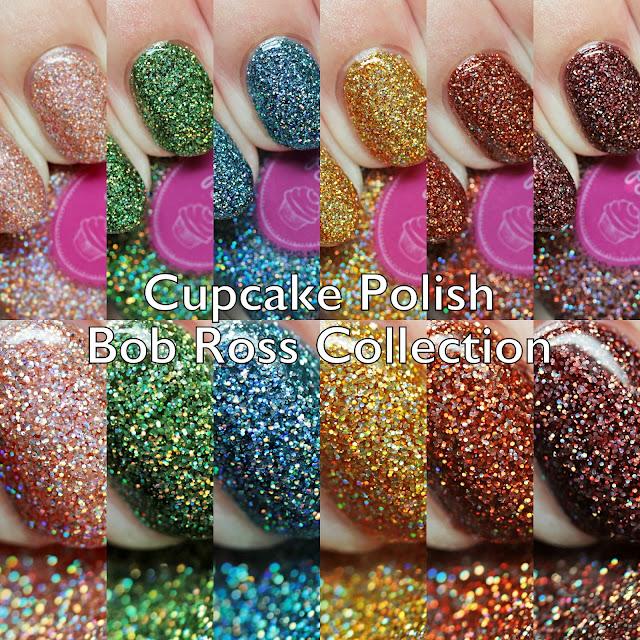 Cupcake Polish Bob Ross Collection