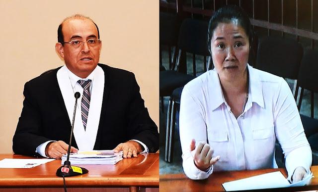 Juez Víctor Zúñiga asumirá proceso contra Keiko Fujimori por caso Cócteles, designación del magistrado fue por sistema aleatorio