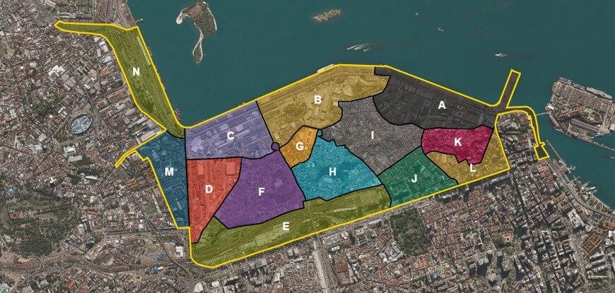 Figura 01 - Mapa Setores Porto Maravilha