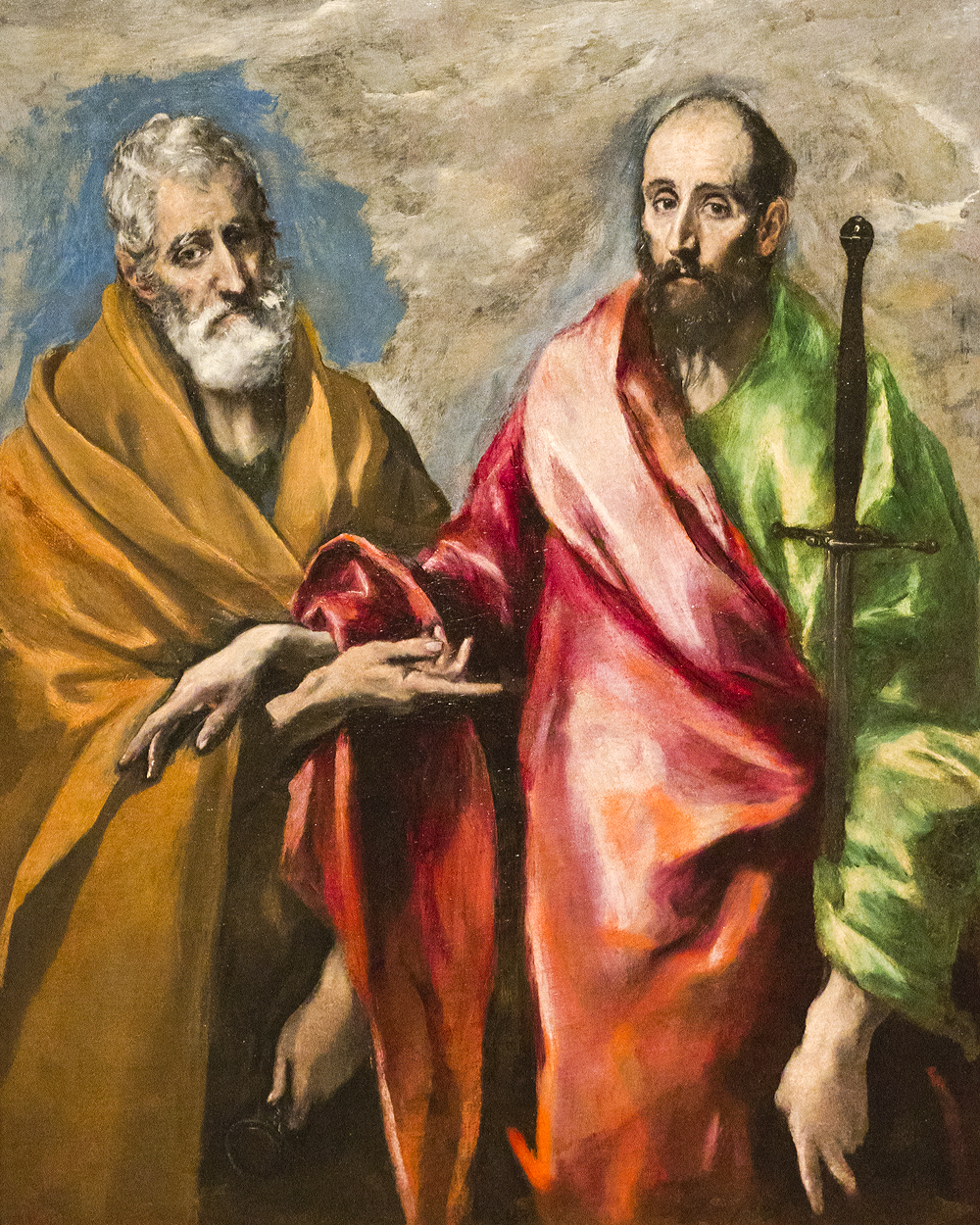 San Pedro Y San Pablo El Greco Arte Paisaje