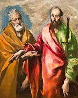 Resultado de imagen de pedro y pablo apostoles