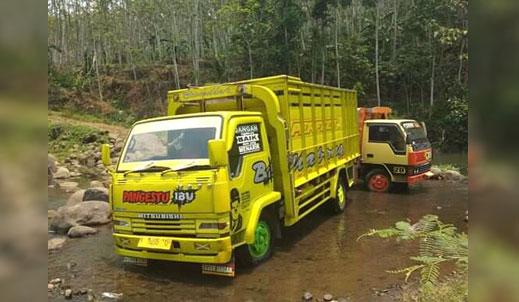 Truck milik korban yang dicuri maling