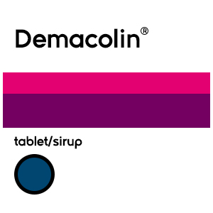 Demacolin Tablet/Syrup Obat Flu