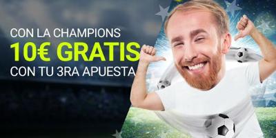 Luckia promocion Champions League 22-23 agosto