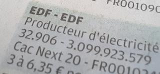 EDF dividende exercice 2020