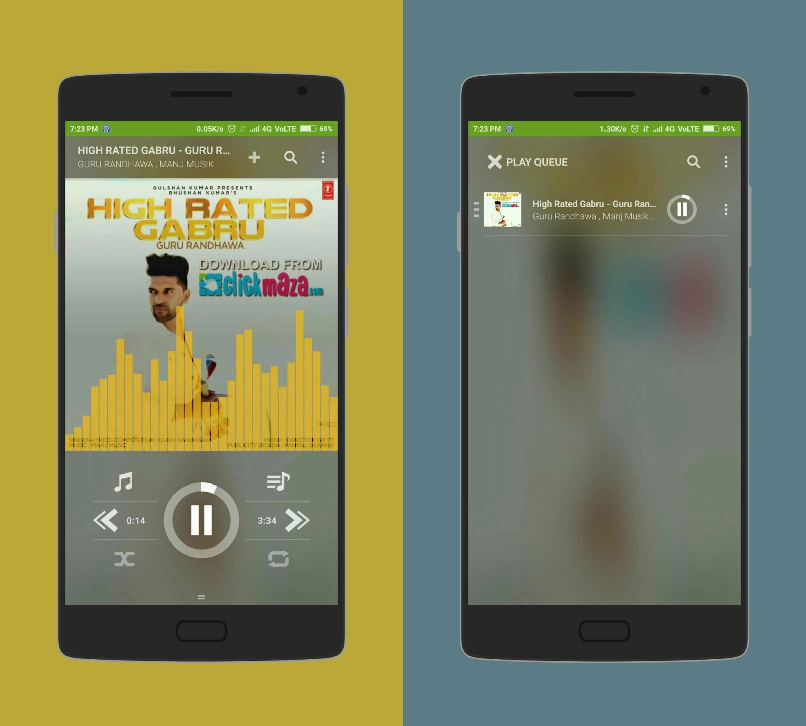 redmi 2 prime music player download