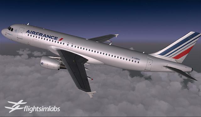 FlightSimLabs A320X FSX/P3D - Ariel Creation - Flight