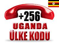 +256 Uganda ülke telefon kodu