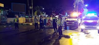 Satuan Lalu Lintas Polres Luwu Utara Intensif Patroli Gabungan Malam