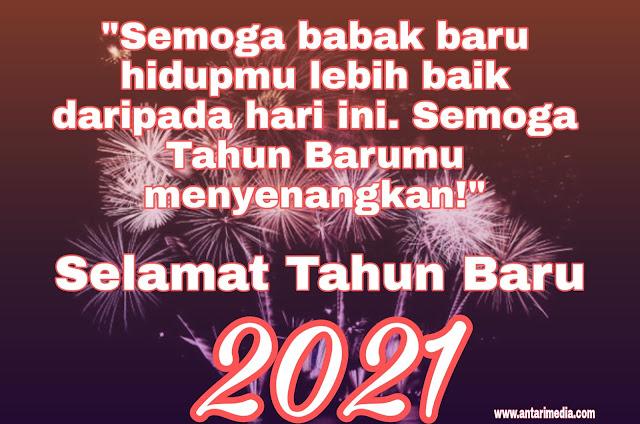 Update 60 Ucapan Selamat Tahun Baru 2021 Dalam Bentuk Bahasa Inggris, Indonesia, dan Gambar, Cocok Untuk dikirim ke WA, IG, FB