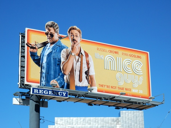 Nice Guys special extension movie billboard