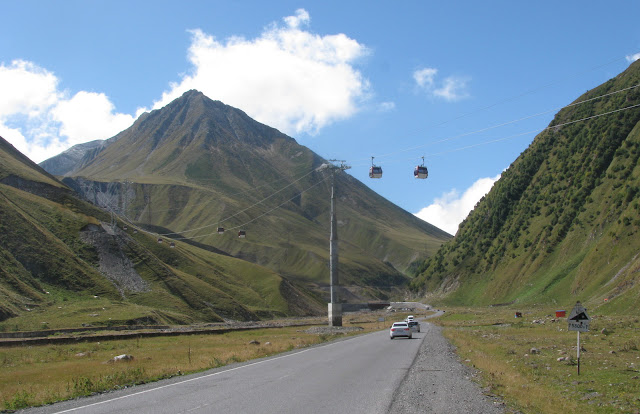 подъемник на военно-грузинской дороге