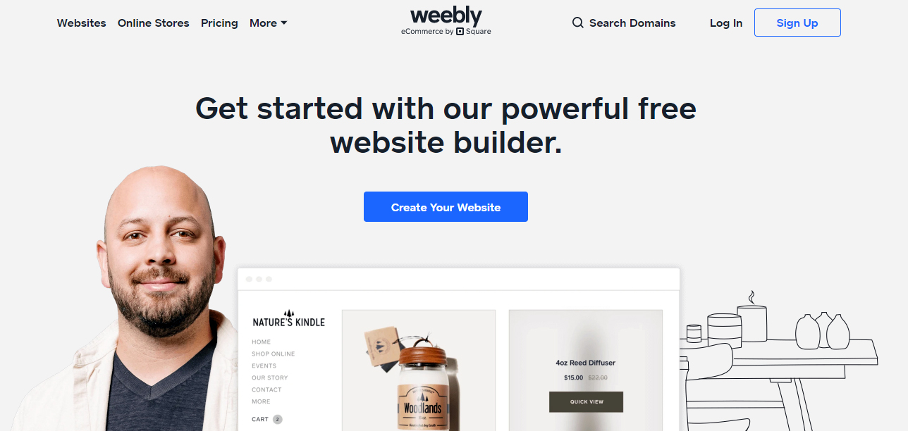 Weebly best free hosting website