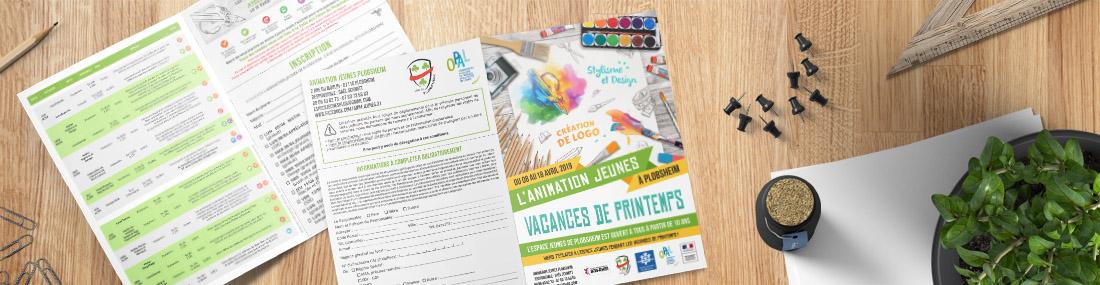 Création de flyer, tract, affiche