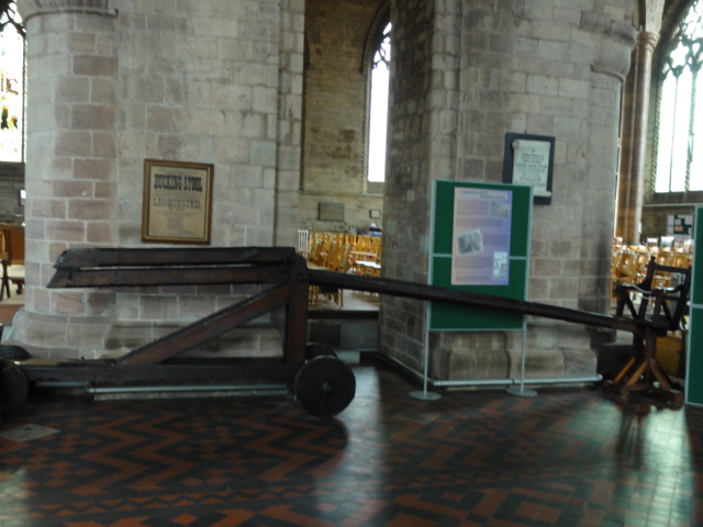 Ducking Stool Leominster Priory
