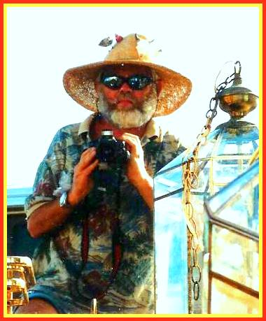 "Tom ""Hemingway"" at Key West Florida U.S.A."