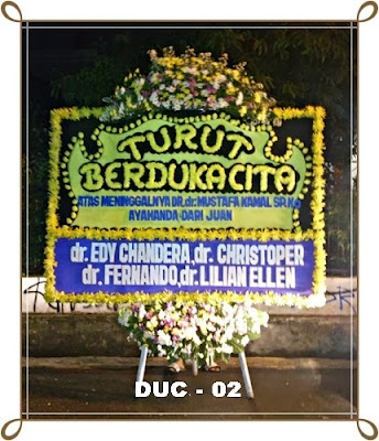 Toko Karangan Bunga Duka Cita Murah Jakarta