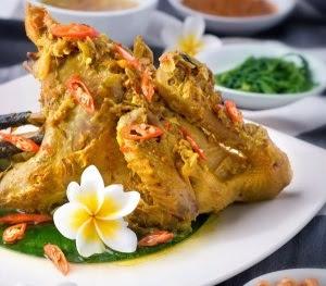 Resep Ayam Betutu Bali Bumbu Merah