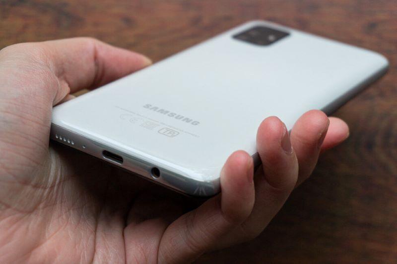 Desain Samsung Galaxy M51