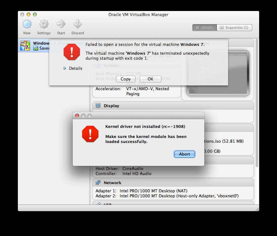 rc 1908 virtualbox error mac