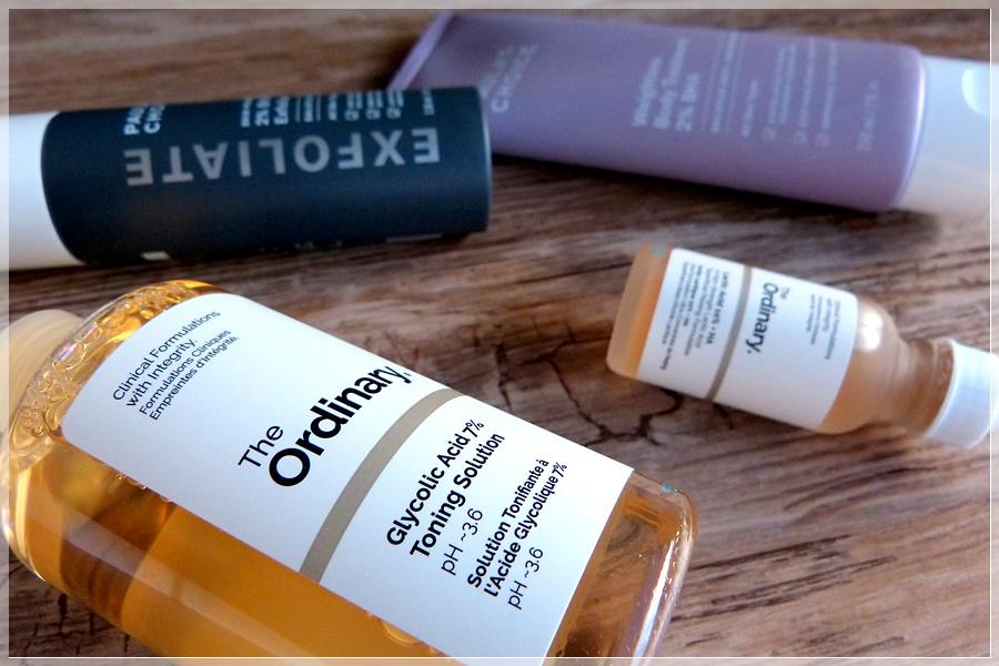 Hautpflege The Ordinary und Paulas Choice Empfehlungen