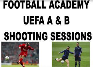 football academy ueaf A&B shooting sessions PDF