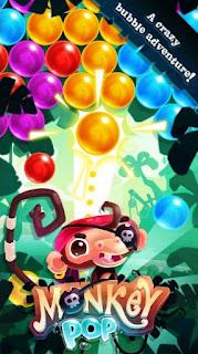 Monkey Pop - Bubble Game Apk