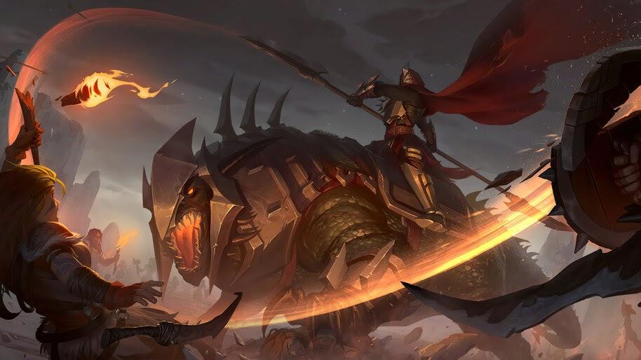 Basilisk Bloodseeker, Noxus, Legends of Runeterra, 4K, #5.2705