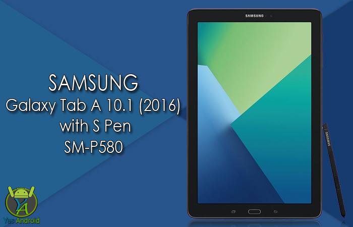 Download P580KXU1APL1   Galaxy Tab A 10.1 (2016) SM-P580