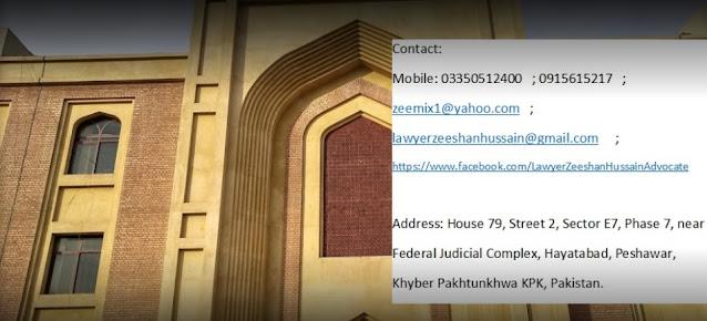 Advocate / Lawyer / Taxation Zeeshan Hussain