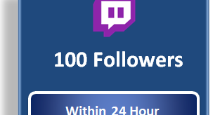 Buy Twitch Followers Cheap | $2 For 100 Followers | Twitch Channel