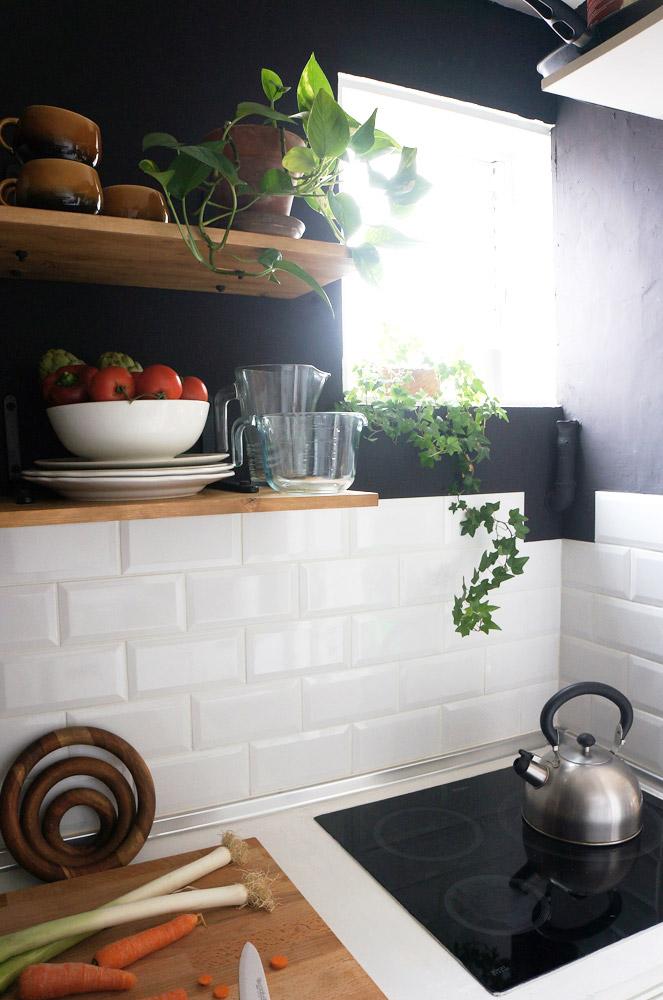 Antes y despu s de nuestra peque a cocina renovar la for Renovar cocina pequena