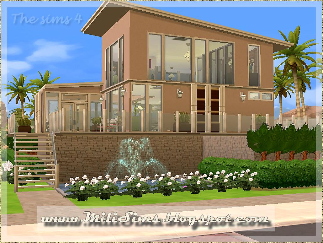 casa moderna 2 the sims 4. Black Bedroom Furniture Sets. Home Design Ideas