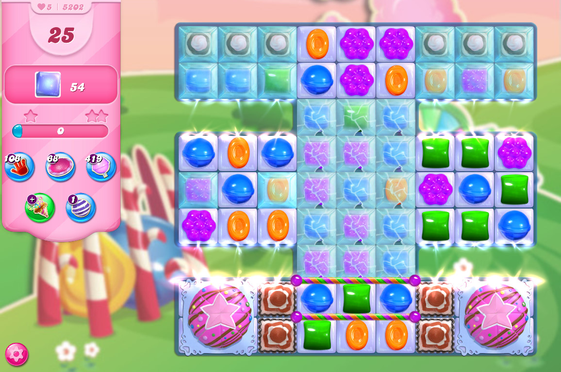 Candy Crush Saga level 5202