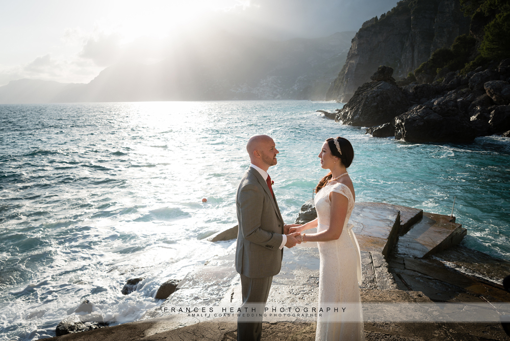 Wedding portrait Amalfi coast