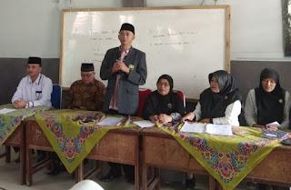 UNBK Mandiri, MTsN 3 Solok Bersilaturahmi dengan Orang Tua Siswa