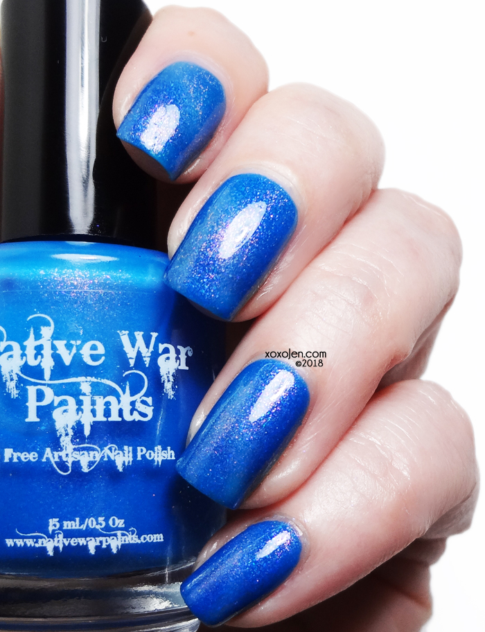 xoxoJen's swatch of Native War Paints Lance Vance Dance
