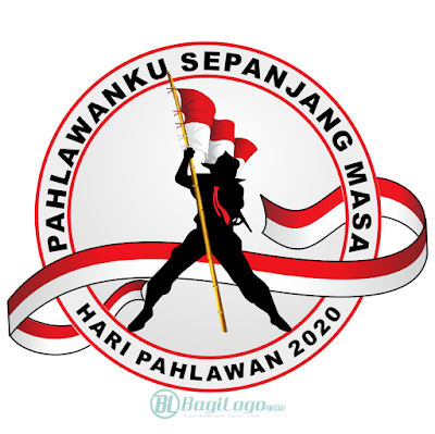 Logo Hari Pahlawan 2020 Vector